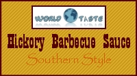 Hickory BBQ Sauce, Southern style